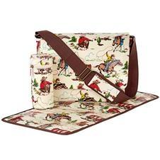 cath kidston nappy bag cowboy old white