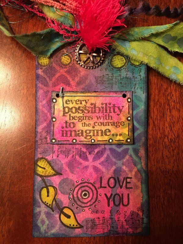 Bookmark for my Stepmom (front)