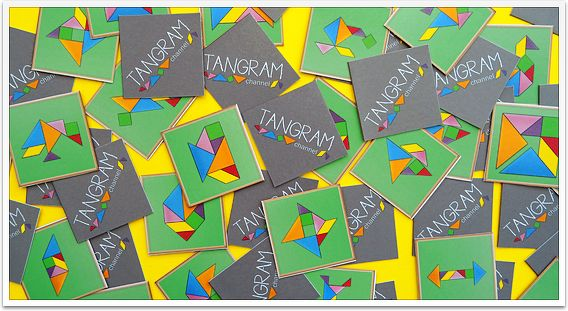 Tangram Memory - Free Printables! - http://www.tangram-channel.com