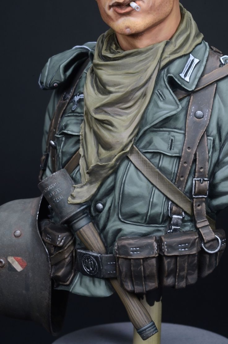 German 6th Army, Stalingrad 1942 (1/10 LIFE MINIATURES) by