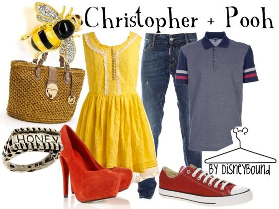 Christopher Robin & Pooh by Disney Bound. Disney Fashion Outfits. Cute couples