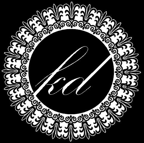 Kirsty Drummond Photography - Gold Coast, Australia  White on Black short paisley logo.  www.kirstydrummond.com.au