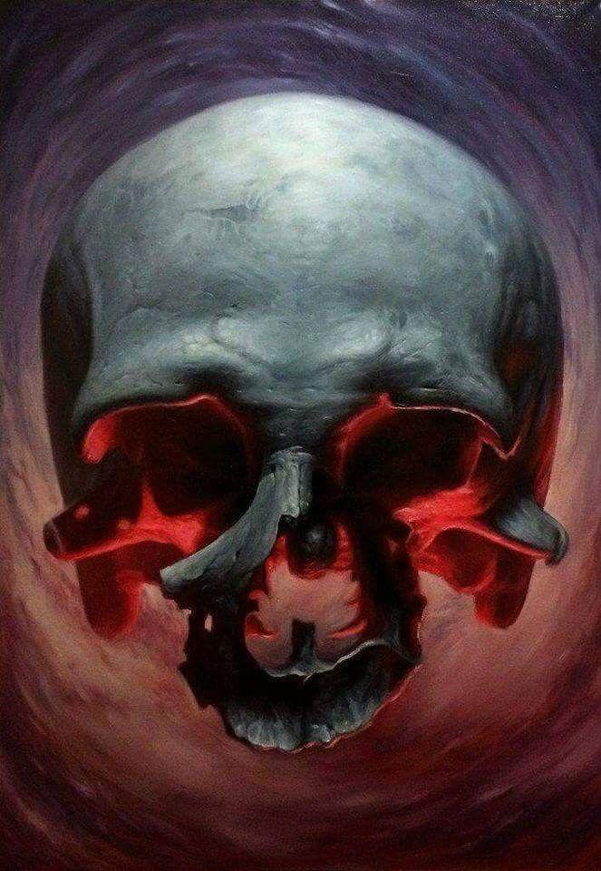 Знакомство в череп