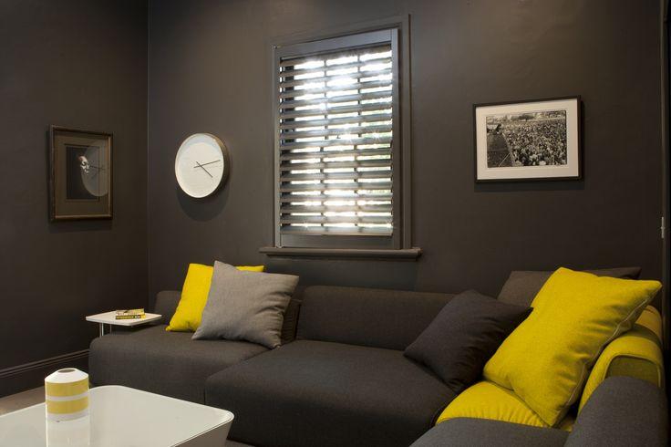 Media Room with Jardan sofa. Brooke Aitken Design.
