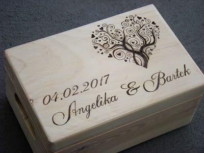 wedding chest with heart