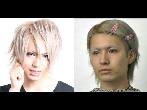 メンズスパイダーストアプレゼンツ!!! V系メイク、ヴィジュアル系メイク Visual Kei  make up - YouTube