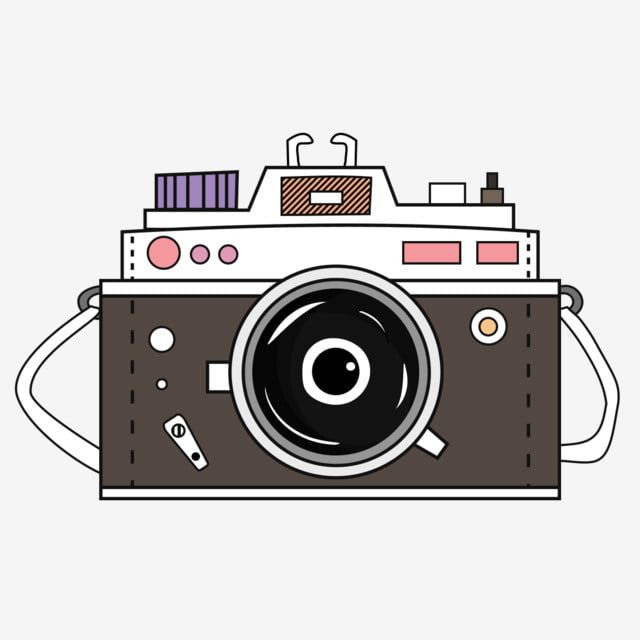 Cute Retro Photo Camera Cartoon Style Illustration Camera Vector Cute Png Transparent Clipart Image And Psd File For Free Download In 2020 Camera Cartoon Camera Drawing Retro Camera