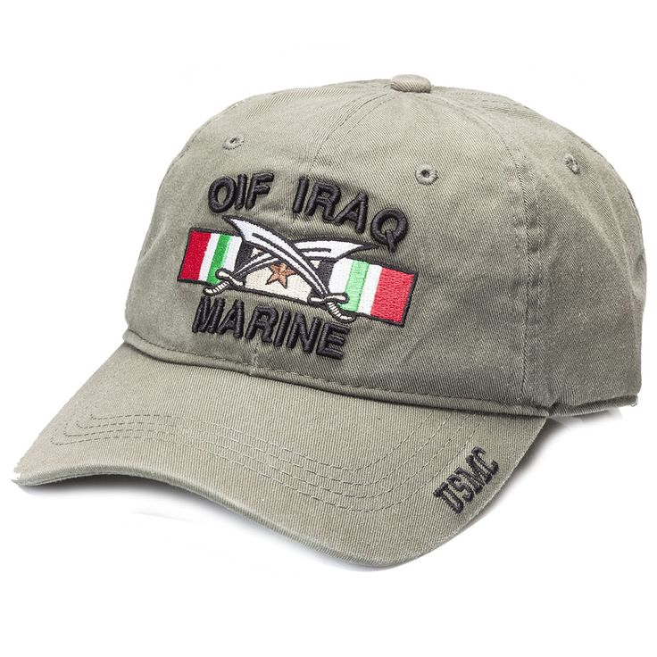 NEW! OIF/OEF Iraq/Afghanistan Marine Cover/Hat  Choose your OIF/OEF Marine Corps Cover Today!  Shop Now!  #SgtGrit #Marines