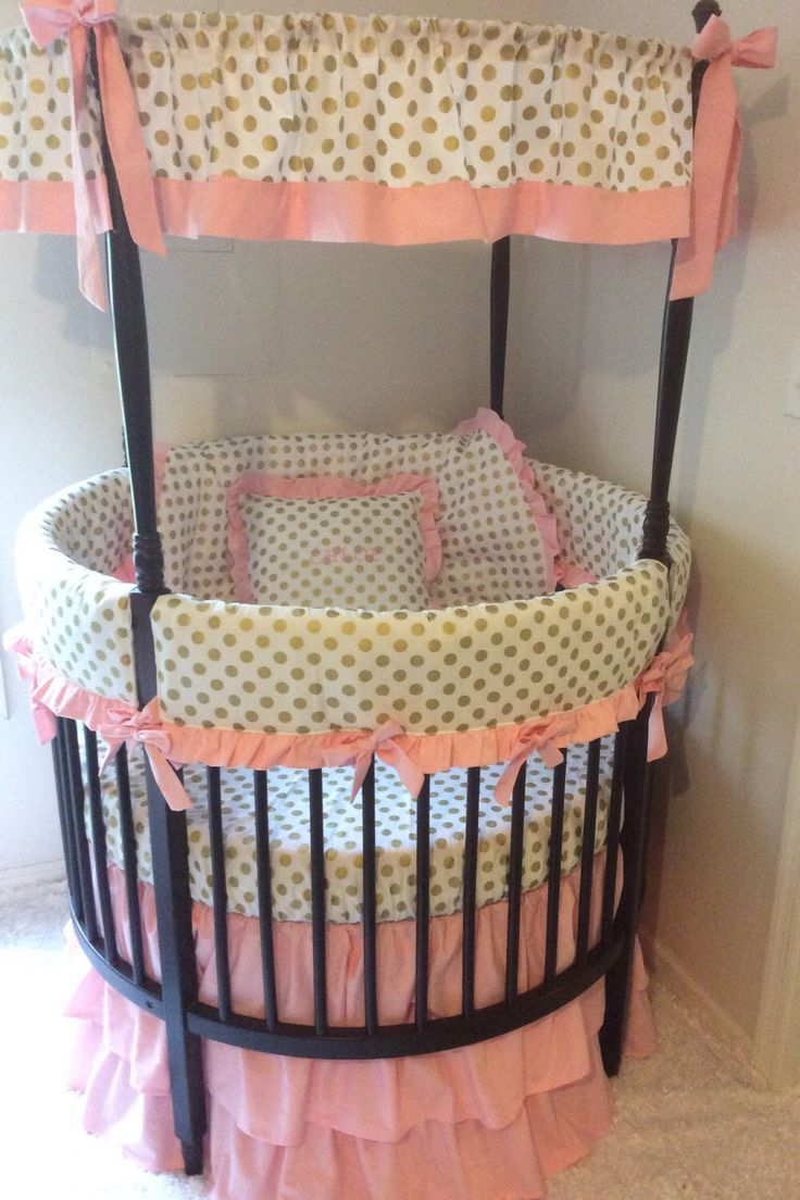 Ellery round crib for sale - A Personal Favorite From My Etsy Shop Https Www Etsy Com