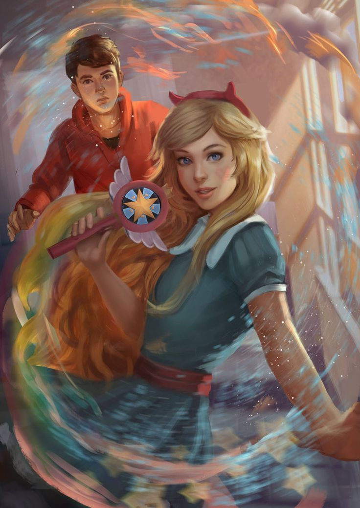 """fandom-artworks: """" Star vs The Forces of Evil - Fan Art by andyliongart [Permission obtain by artist before posting here. Please visit the original links and help fave or comment.] """""""
