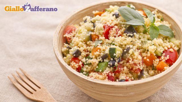 Ricetta Couscous alle verdure - Le Ricette di GialloZafferano.it