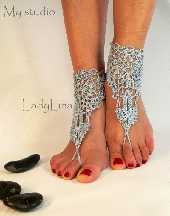 Hey, I found this really awesome Etsy listing at https://www.etsy.com/listing/116997247/silver-blue-barefoot-sandals-anklet