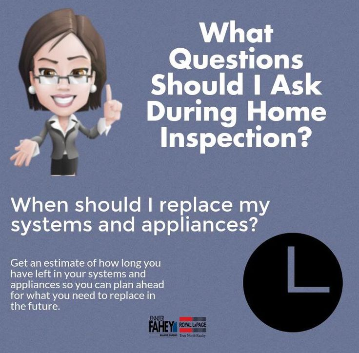 What are some of the essential questions that you should ask during home inspection? Check out my new post to find out! #blog #infograph #realestate #homeinspection