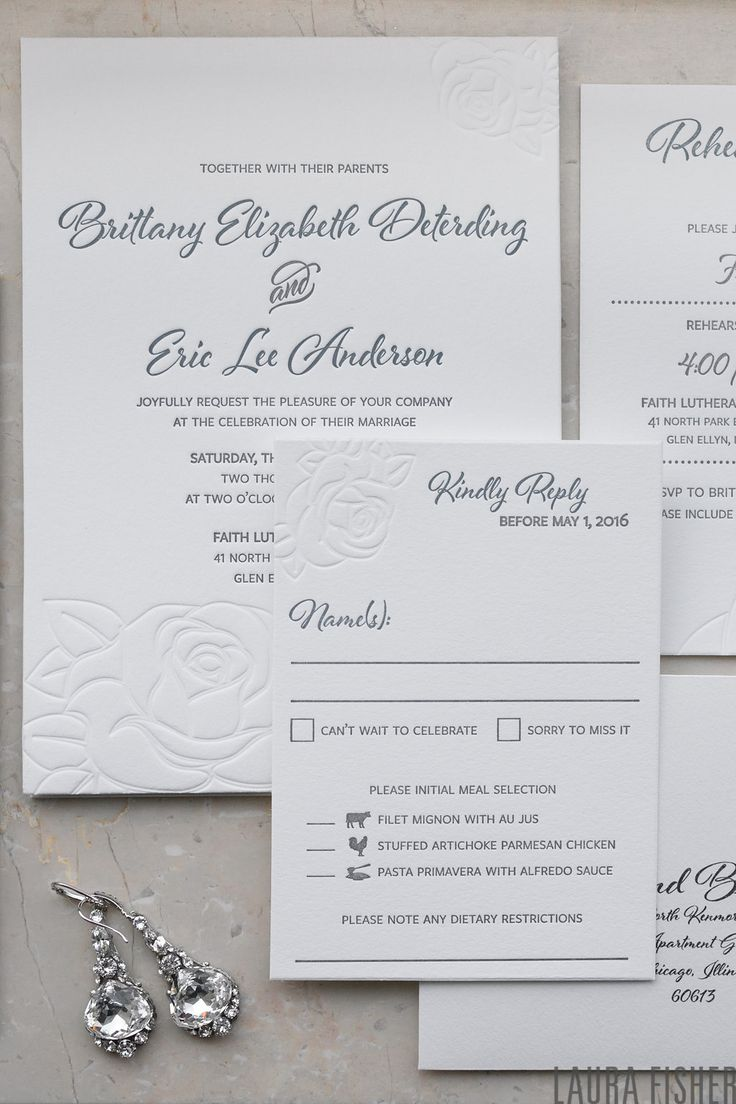 wedding renewal invitation ideas%0A Classic floral custom designed letterpress wedding invitation suite  by  Lucky Invitations  Photography by
