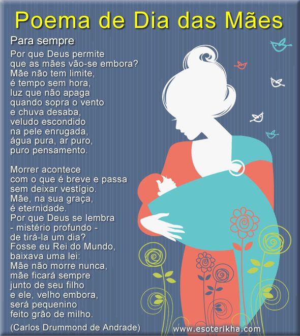 Poema dia das mães