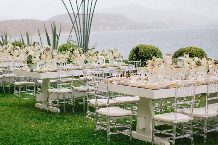 Luxury elegant wedding dinner area of Marina Luczenko and Wojciech Szczesny at Athens Greece planned by DePlanV