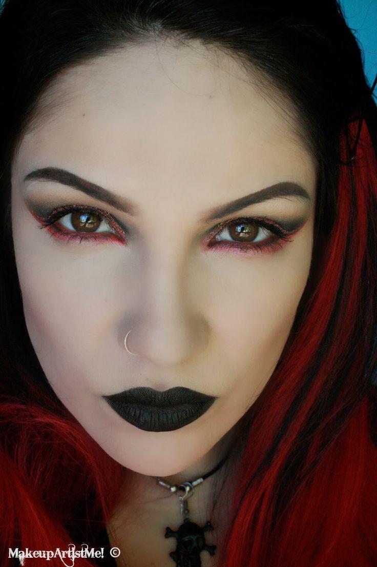 Makeup Turorials: 17 Best Ideas About Goth Makeup Tutorial On Pinterest
