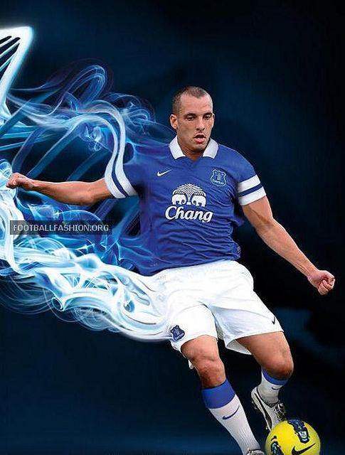 Everton FC 2013/14 Nike Home Kit