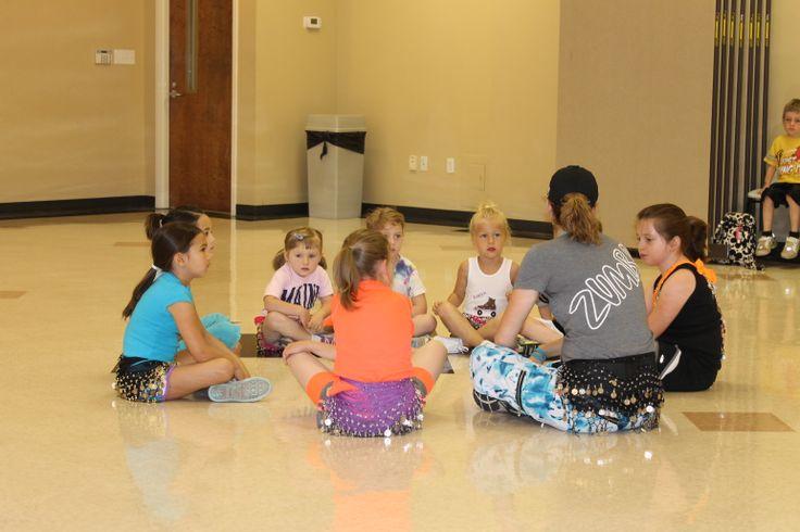 Zumbatomic classes for kids.