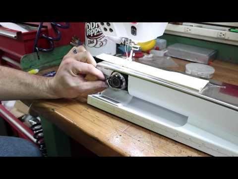 Bernina 820/830/880 Threading - YouTube