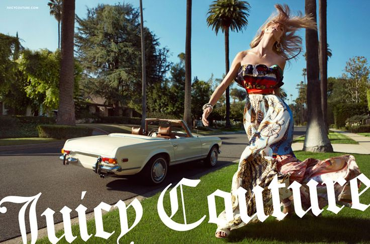 Anna Selezneva for Juicy Couture Spring 2012 Campaign by Inez & Vinoodh