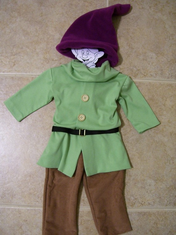 Special Listing for LizP1124, Dopey the Dwarf, Size 18 months Costume