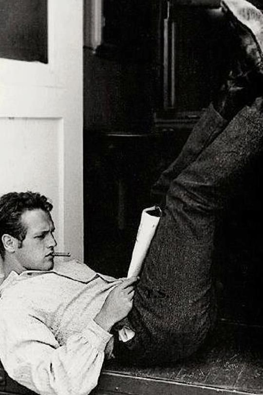 """""""Every time I get a script, it's a matter of trying to know what I could do with it. I see colors, imagery. It has to have a smell. It's like falling in love. You can't give a reason why."""" Paul Newman   Film quotes"""