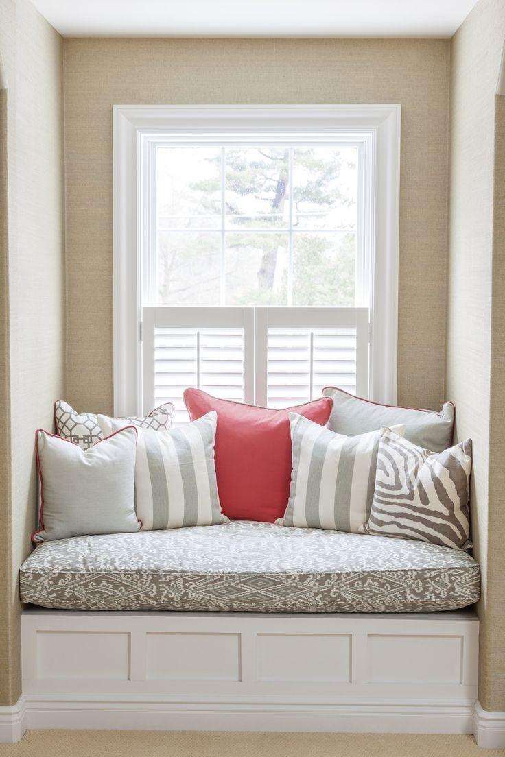 Bedroom window seat