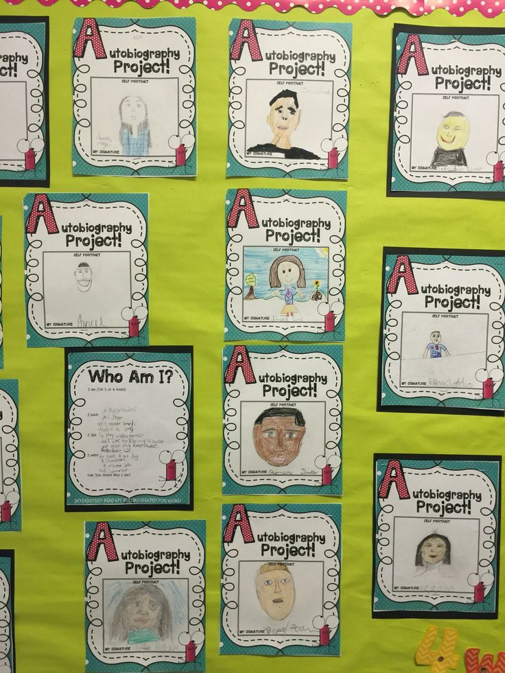 A fantastic autobiography writing project that will inspire your class. You will love reading about your students! 10 activities provide meaningful prewriting activities that enhance the final product! Write this way!