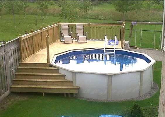 Come abbellire una piscina fuori terra o seminterrata! Ecco 20 idee stupende…