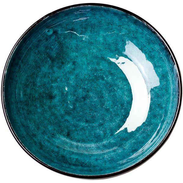 トルコブルー 盛り鉢 - 食器通販サイト『器の店 Furari』| Blut's Official Web Store