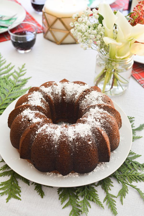 You have to make this sherry wine cake recipe for the holidays this year. It is a newer tradition of mine and I serve it every Christmas morning breakfast.
