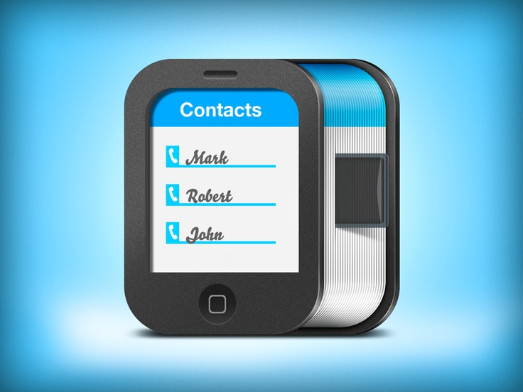 Contacts iOS Icon