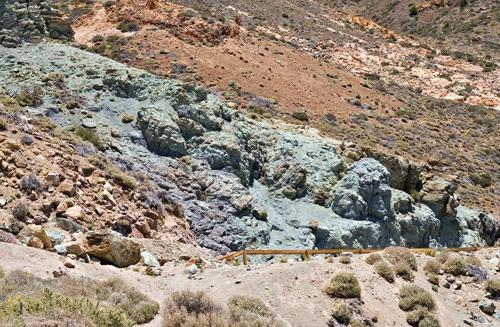 Tierras azules y verdes los azulejos parque nacional del teide la orotava tenerife islas - Azulejos tenerife ...