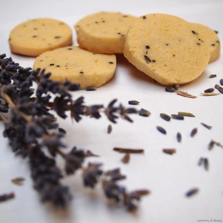 Levandulové sušenky polenta