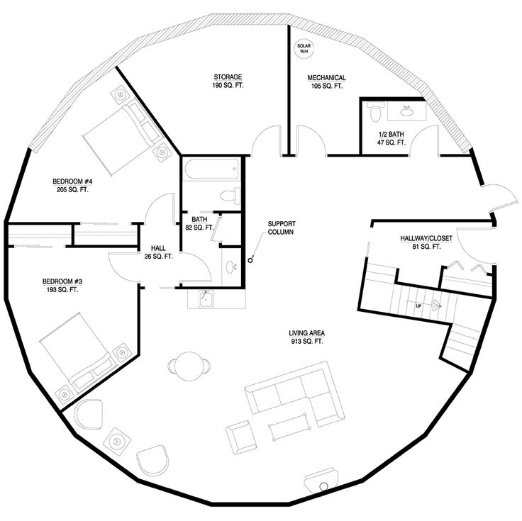Sacred Geometry Holistic House Plans By Michael Rice