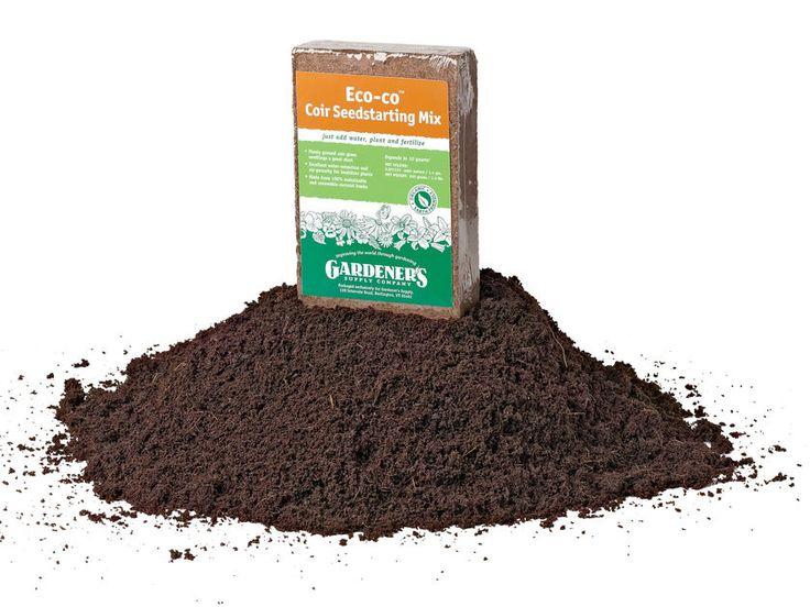 Eco-Coir Seed Starting Mix Gardeners.com