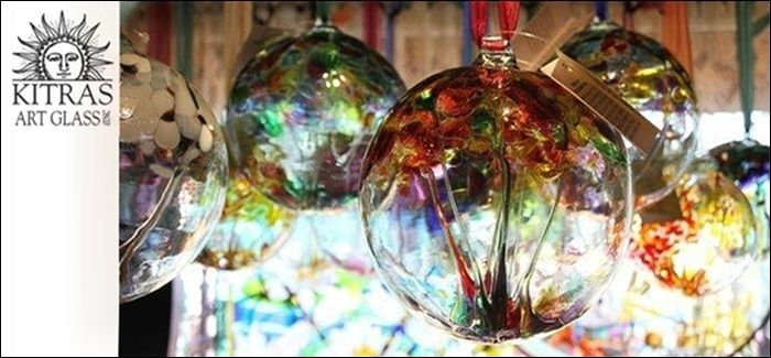 We're always proud to carry a large selection of Kitras hand blown glass ornaments which are a 100% Canadian product made in Fergus, Ontario! There's one for every occasion!