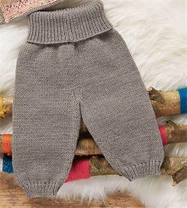 Bergere de France Babies Knitting Patterns Trousers Pattern 426.921