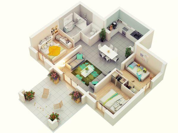 17 meilleures images à propos de Ev Planları sur Pinterest Plans - les meilleurs plans de maison