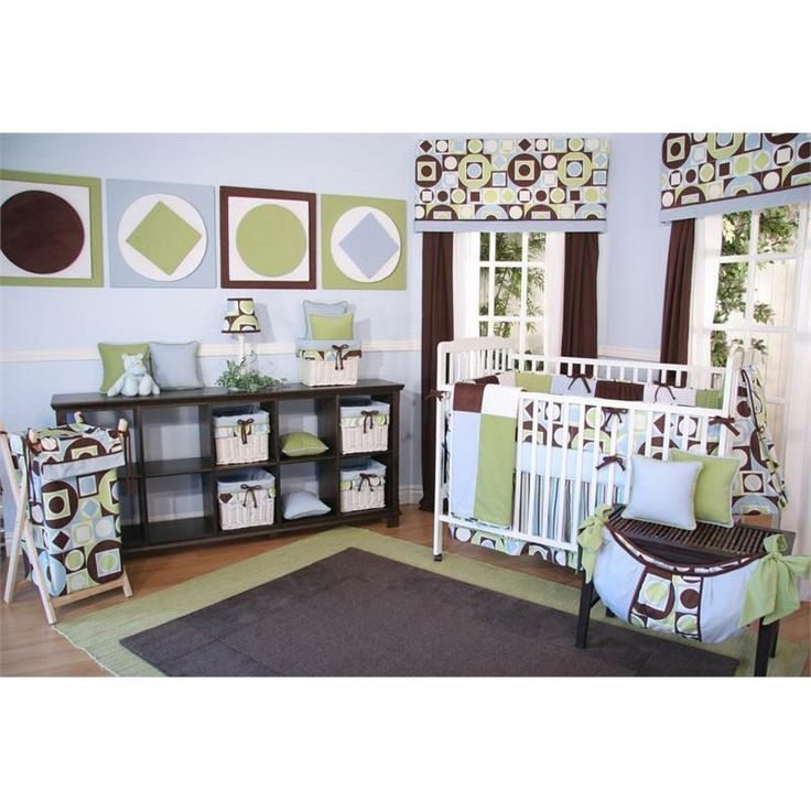 Love it. Brandee Danielle Modern Baby Boy 4 Piece Crib Bedding Set   # Pin++ for Pinterest #