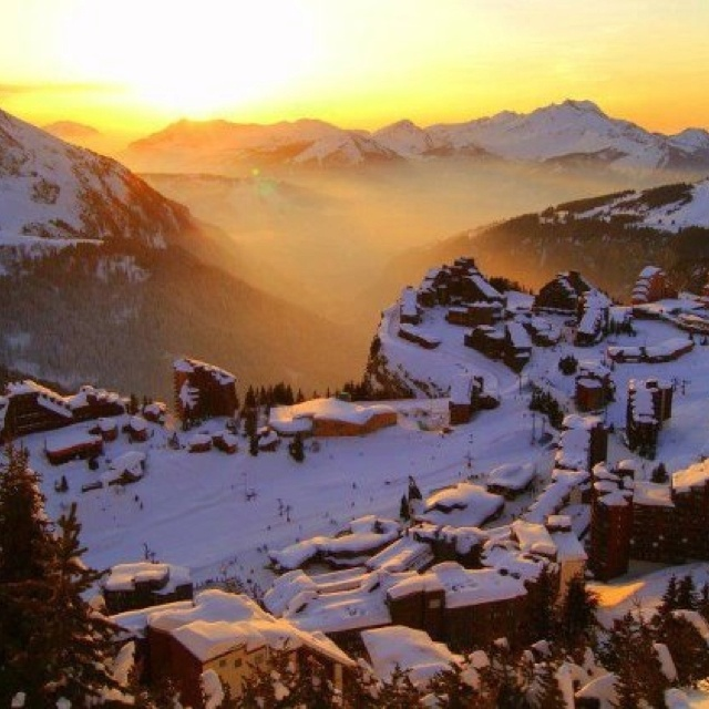 Avoriaz resort, France