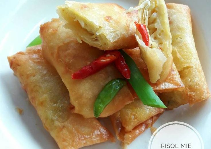 Resep Risoles Mie
