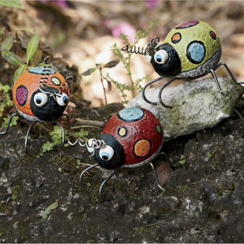 Set of 3 Polka Dot Bugs from Ginny's ® | Golf ball crafts ...