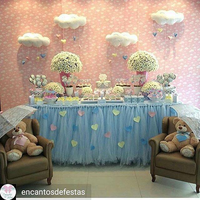 Coisa mais fofa o mundo cor de Rosa   @Regrann from @encantosdefestas -  Festa linda Chuva de Amor !  Inspiração do IG @encontrodefestas  Decor @tuttibellorafaelacampanati . #festachuvadeamor #festachuvadebencaos #festainfantil #fiestasinfantiles #kidsdecor #kidsparty #partydecor #partydecoration #chadebebe #chádebebê #babyshower #encantosdefestas Ana Ottobeli - #regrann