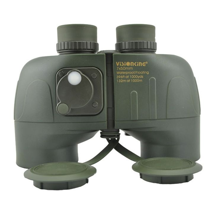127.49$  Buy here - http://aipvr.worlditems.win/all/product.php?id=32491969839 - VISIONKING 7X50LL BAK4 Nautical Waterproof & Shockproof Floating Rangefinder Binoculars Navigation Telescope With Rangefinder