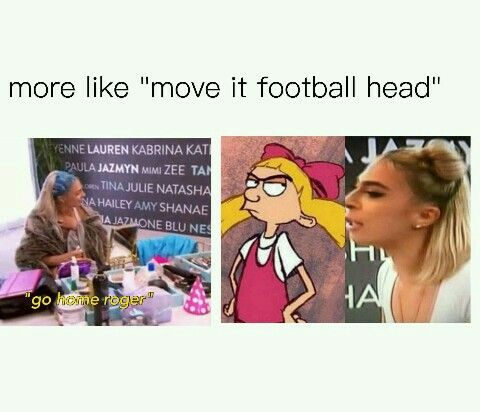 """more like move it football head"""