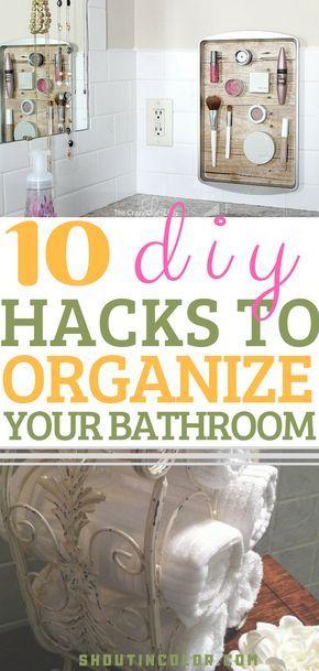 10 Effective Ways To Organize Your Bathroom Like A Pro Nifty Ideas