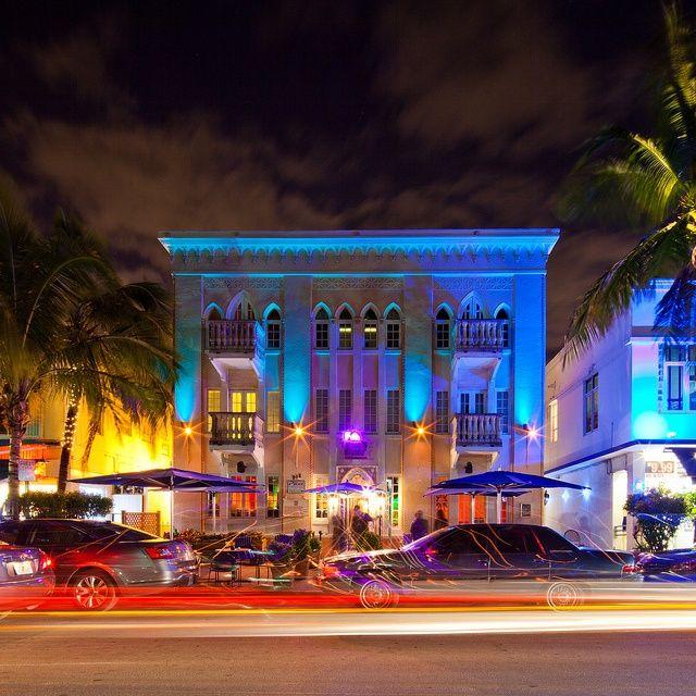 Miami Beach Hotel On Ocean Drive Florida Hotels In