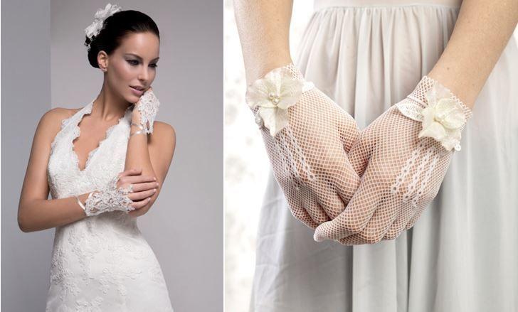 Guantes de novia: ¡completa tu look! www.smilelit.com